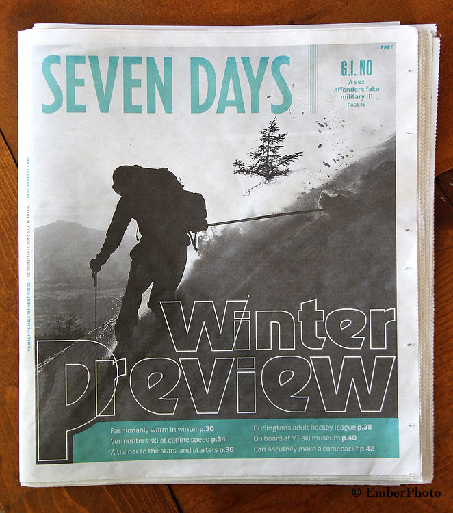 Seven Days - Cover - Oct 2012