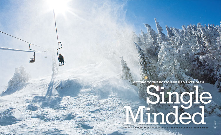 SNOW Magazine - Feature Photography - Winter 2011