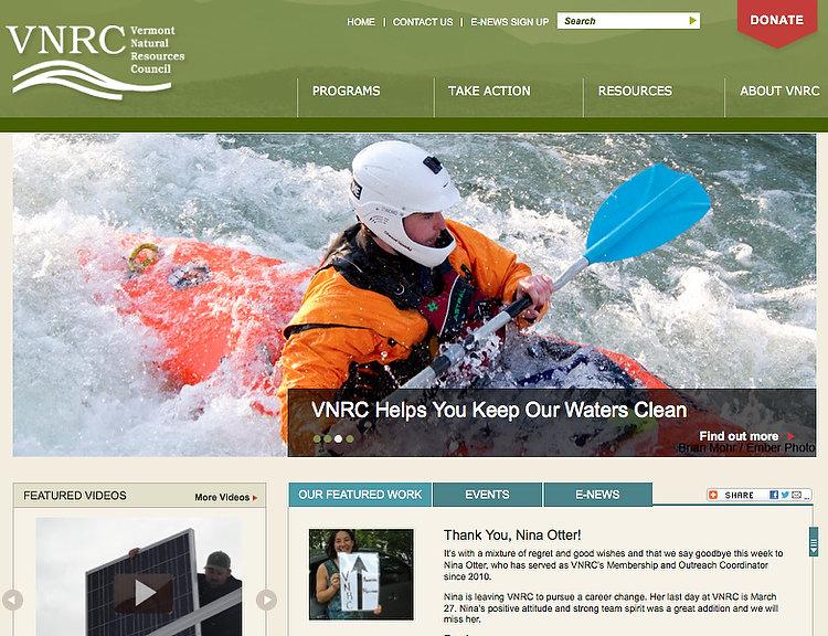 Vermont Natural Resource Council website