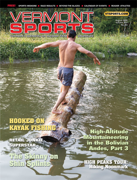 Vermont Sports - Cover - Aug 08