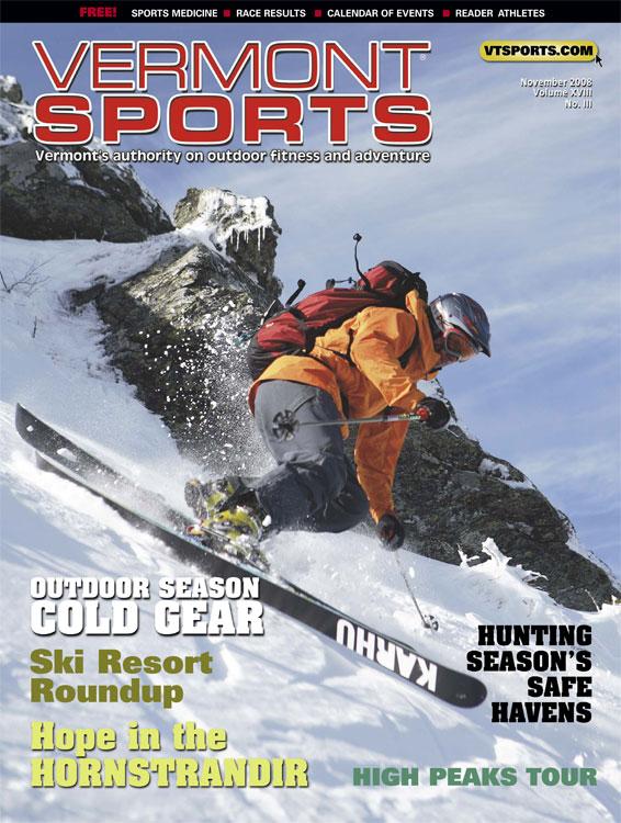 Vermont Sports - Cover - Nov 2008