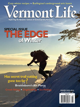 Vermont Life - Cover - Winter 2009