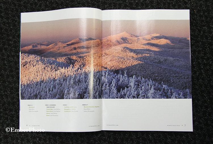 Vermont Life - Photo Spread - Winter 2012