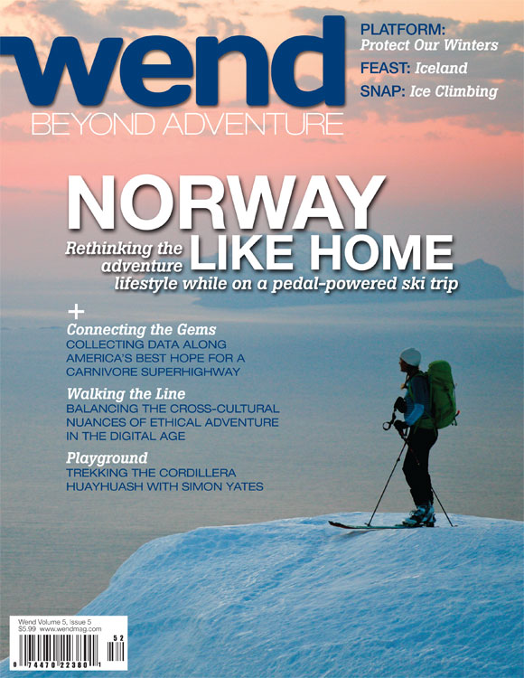 WEND - Cover Story - Winter 2011