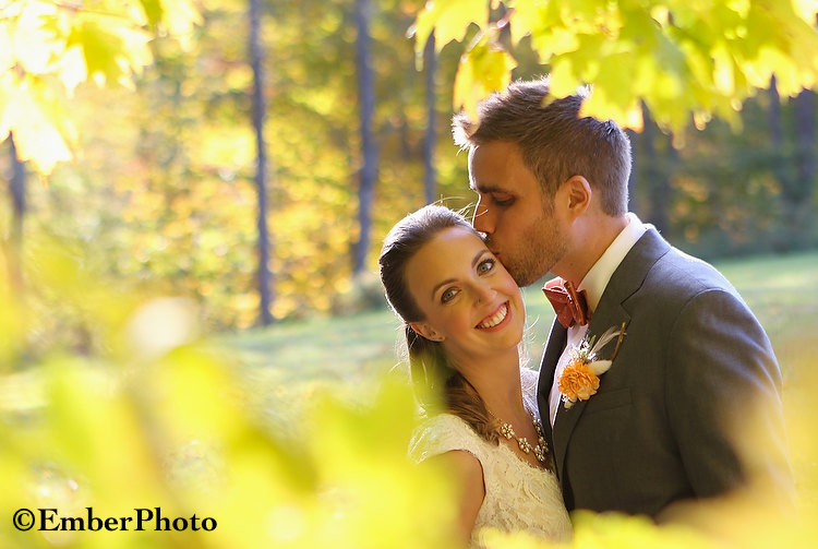 A fall wedding in Vermont's Mad River Valley - ©Brian Mohr/EmberPhoto